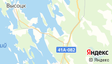 Гостиницы города Медянка на карте