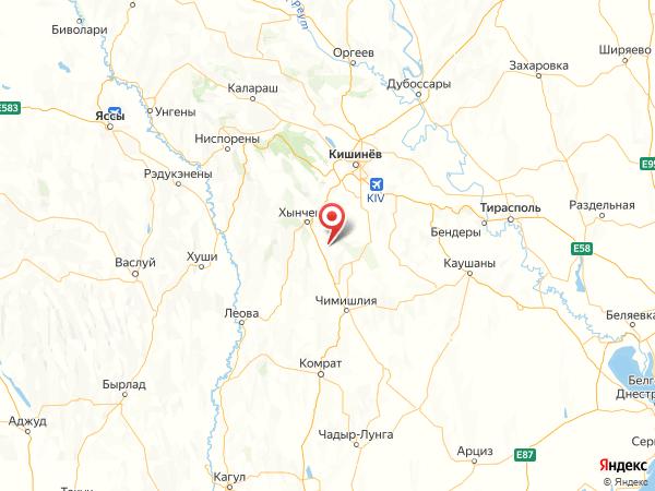 село Ивановка на карте