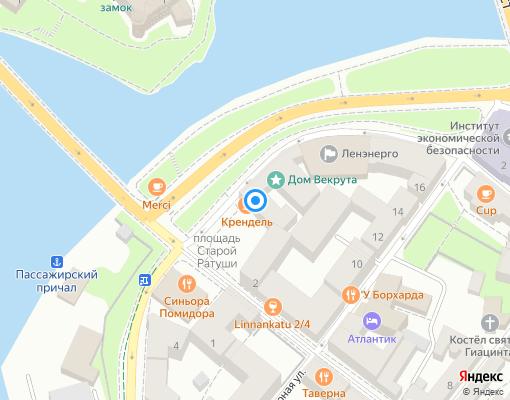 Товарищество собственников жилья «Северный Вал, 3» на карте Выборга