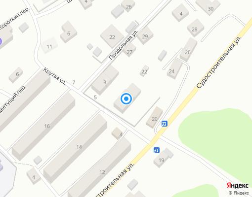 Товарищество собственников жилья «Солнечное» на карте Выборга