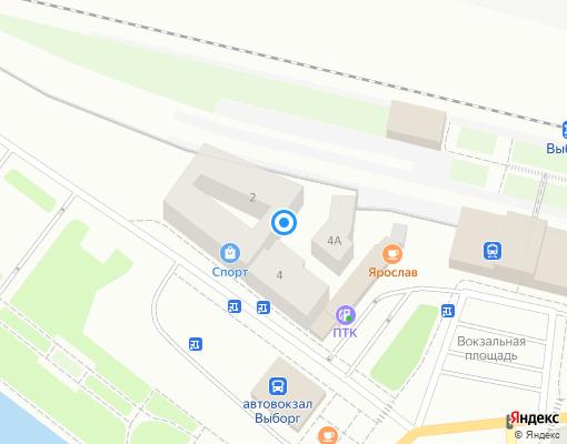 Управляющая компания «Управляющая компания по ЖКХ» на карте Выборга