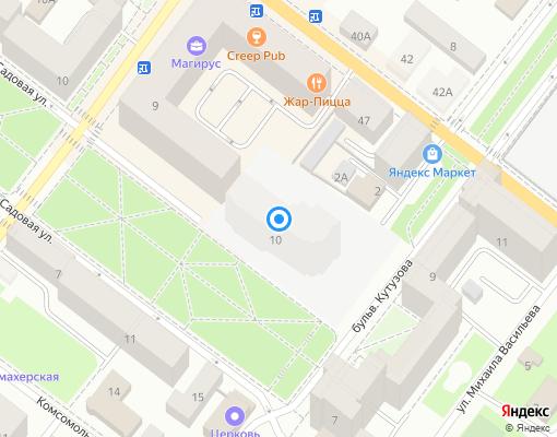 Товарищество собственников жилья «Магирус» на карте Выборга