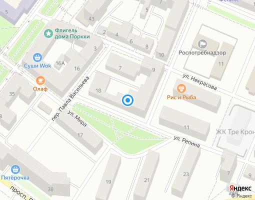 Товарищество собственников жилья «ЭДЕДЬВЕЙС» на карте Выборга