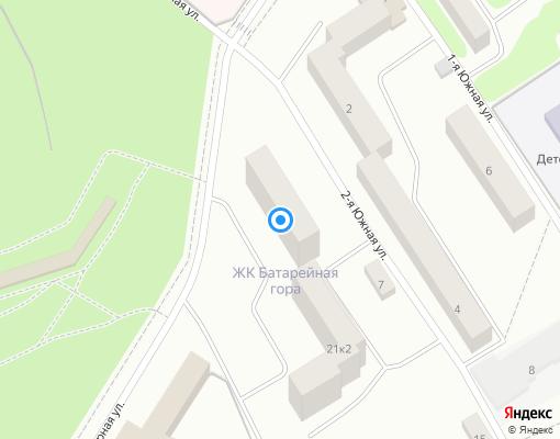 Товарищество собственников жилья «Физкультурная 21» на карте Выборга