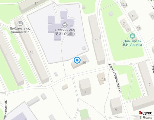 Товарищество собственников жилья «БРИЗ» на карте Выборга
