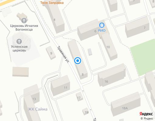 Товарищество собственников жилья «Содружество» на карте Выборга