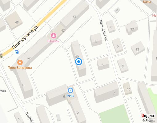 Товарищество собственников жилья «Звездное» на карте Выборга