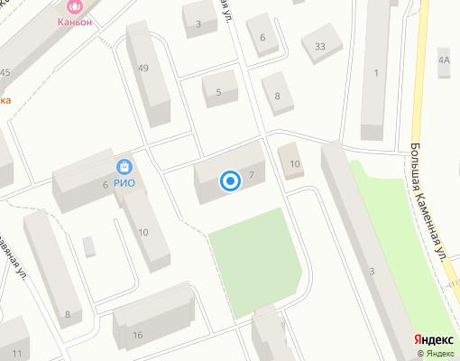 Товарищество собственников жилья «Изогнутая 7» на карте Выборга
