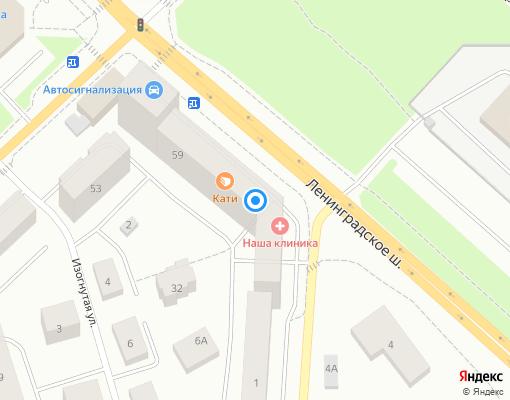 Управляющая компания «Терем» на карте Выборга