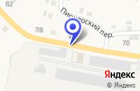 Схема проезда до компании АВТОСЕРВИСНОЕ ПРЕДПРИЯТИЕ МАГНА в Себеже
