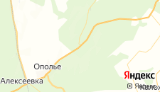 Отели города Гурлево на карте