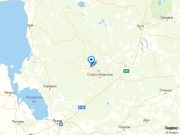 поселок Орехово на карте