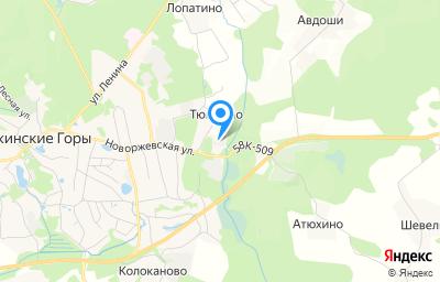 Местоположение на карте пункта техосмотра по адресу Псковская обл, рп Пушкинские Горы, ул Новоржевская, д 47