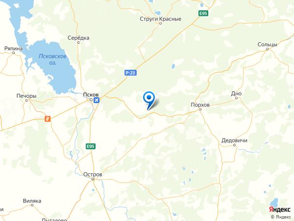 деревня Выставка на карте