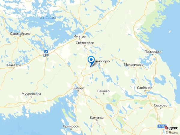 поселок Липовка на карте