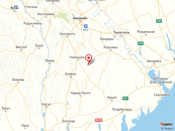 село Петровск на карте