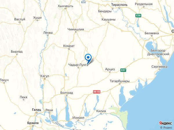 село Малоярославец Первый на карте