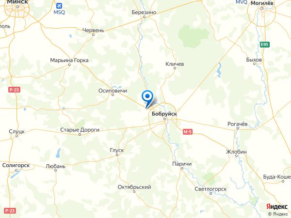 деревня Токари на карте