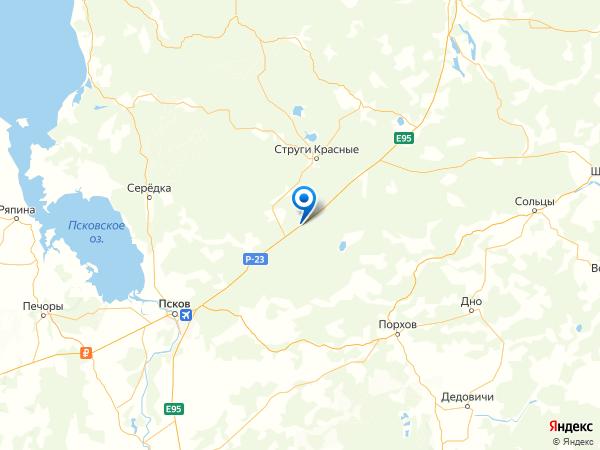 поселок Строитель на карте