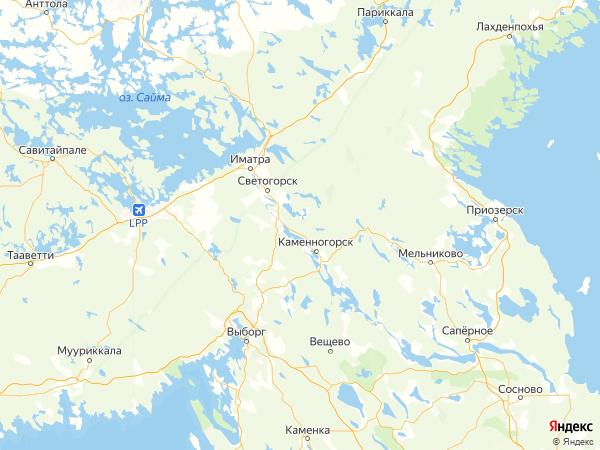 поселок Пруды на карте