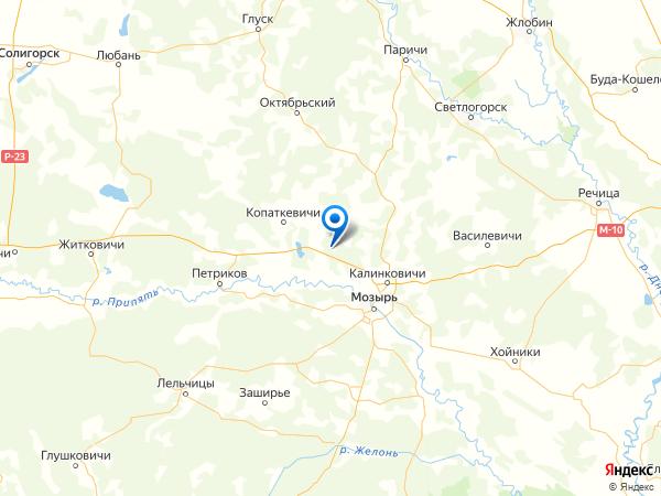 деревня Садки на карте
