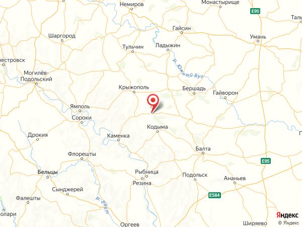село Козловка на карте