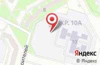 Схема проезда до компании СТРОИТЕЛЬНАЯ ФИРМА ПРОФСЕРВИС-СЕВЕР в Сосновом Боре