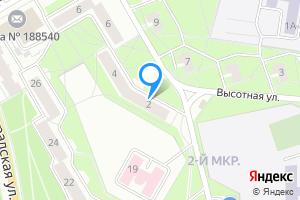Снять трехкомнатную квартиру в Сосновом Бору Ленинградская область, Высотная улица, 2, подъезд 2