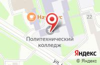 Схема проезда до компании СОСНОВОБОРГСКИЙ ПОЛИТЕХНИЧЕСКИЙ КОЛЛЕДЖ в Сосновом Боре
