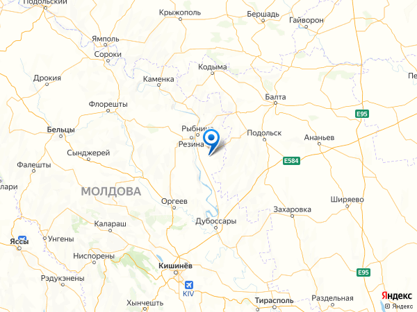село Кирово на карте