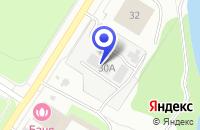 Схема проезда до компании МУП ГОРОДСКАЯ ЭЛЕКТРОСЕТЬ в Сосновом Боре