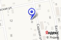 Схема проезда до компании ХОЗЯЙСТВЕННЫЙ МАГАЗИН в Дно