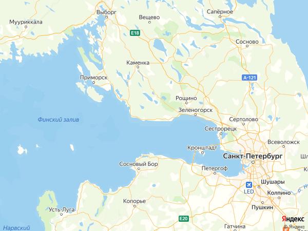 поселок Октябрьское на карте