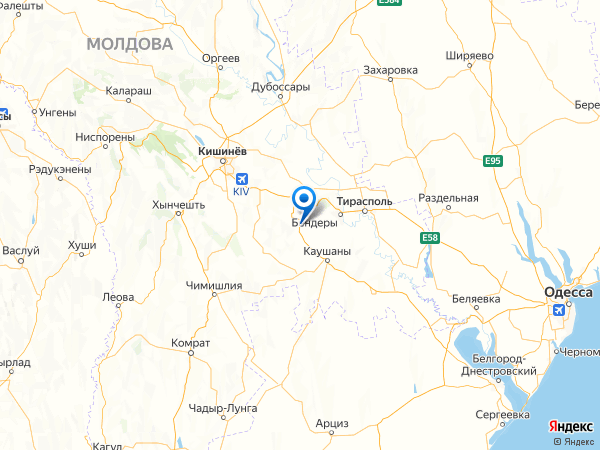 село Новотроицкое на карте