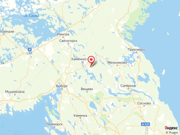 посёлок Красный Сокол на карте