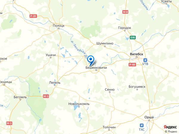 деревня Пятигорск на карте