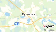 Отели города Пустошка на карте