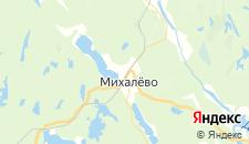 Отели города Бородинское на карте