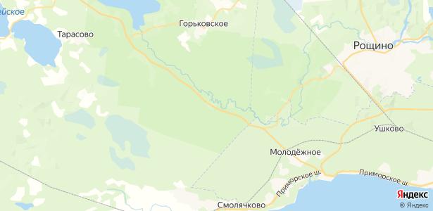 Сопки на карте