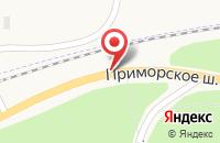 Схема проезда до компании САНАТОРИЙ ДЮНЫ в Приморске