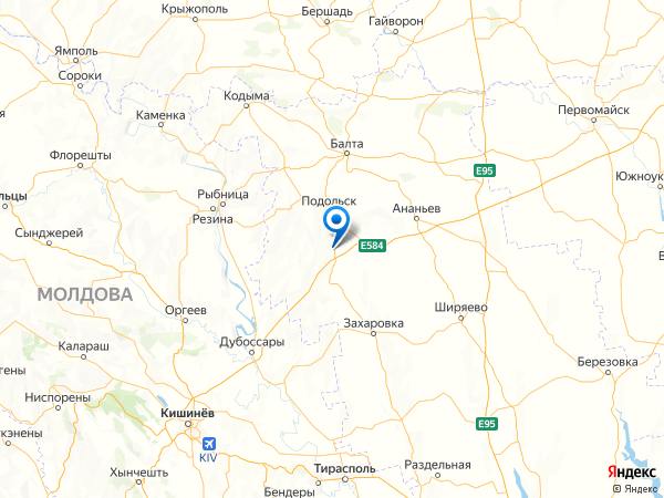 село Ставрово на карте