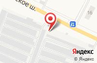 Схема проезда до компании Шиномонтажная мастерская в Большой Ижоре