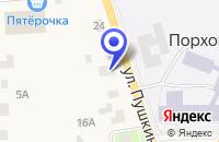 Схема проезда до компании ЦЕНТР ПО ИЗГОТОВЛЕНИЮ ПАМЯТНИКОВ УСАНОВКА-2 в Порхове