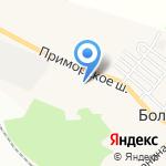 Большеижорская амбулатория на карте Санкт-Петербурга