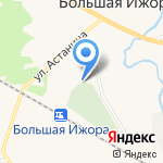 Храм Всех Святых на карте Санкт-Петербурга