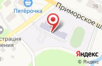 Схема проезда до компании Большеижорская средняя общеобразовательная школа в Большой Ижоре
