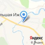 Самбери на карте Санкт-Петербурга