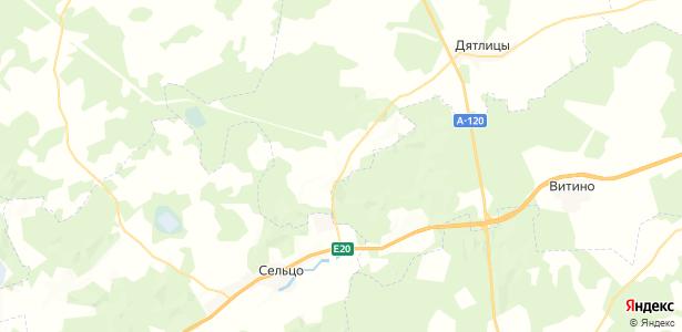 Клясино на карте