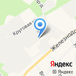 Пилорама на карте Санкт-Петербурга