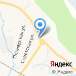 Бистро на карте Санкт-Петербурга
